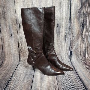 Shoes - Womens Ettienne Aigner knee high boots size 9
